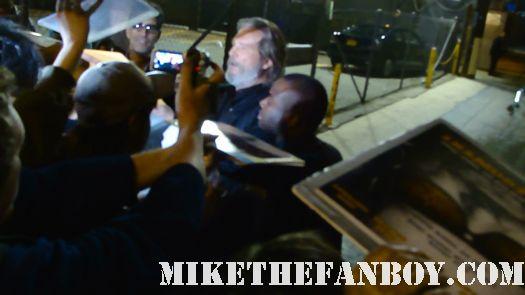 Jeff Bridges Tron Legacy Big Lebowski Sexy True Grit Autograph Signed poster