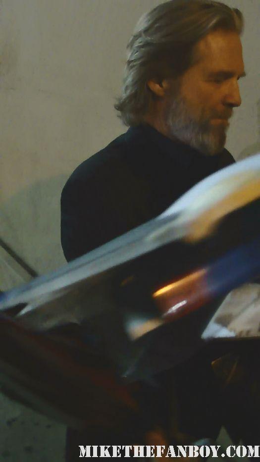 Jeff Bridges Tron Legacy True Grit Signed Autograph rare sexy