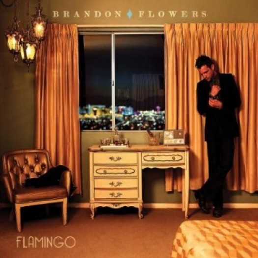 brandon flowers flamingo single album artwork cover the killers rare hot sexy las vegas