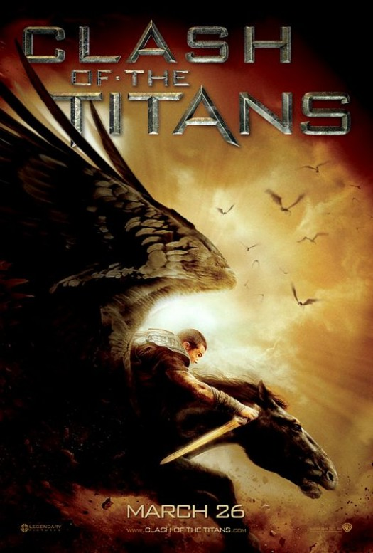 Sam Worthington Clash of the Titans one sheet movie poster rare mini shirtless sexy hot naked sweat