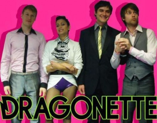 Dragonette – Easy promo photo rare band photo sexy album art cover