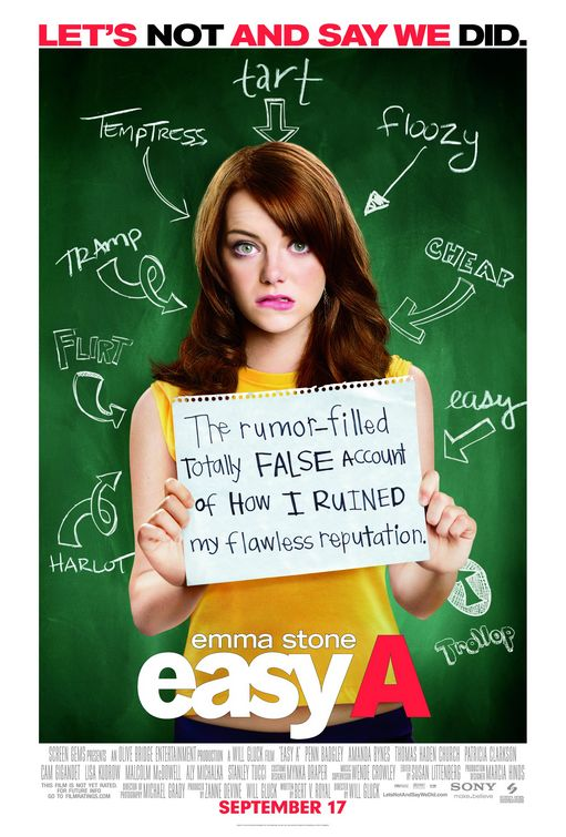 cam gigandet penn badgley shirtless naked easy a emma stone poster sexy sweat hot
