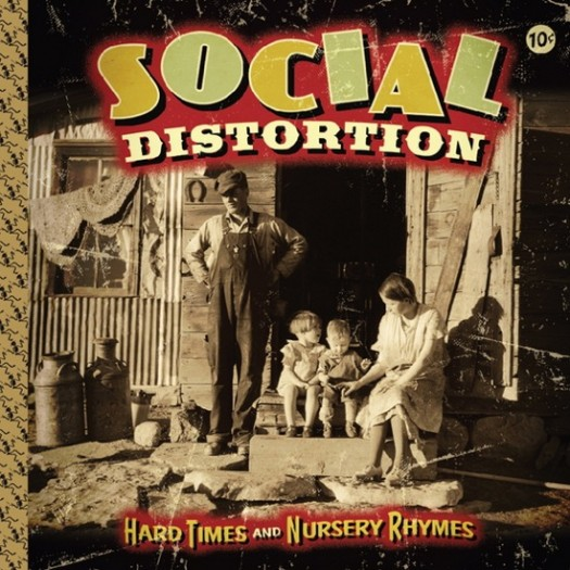 Social Distortion – Machine Gun Blues 2010 jimmy kimmel rare hard times and nursery rhymes cover art