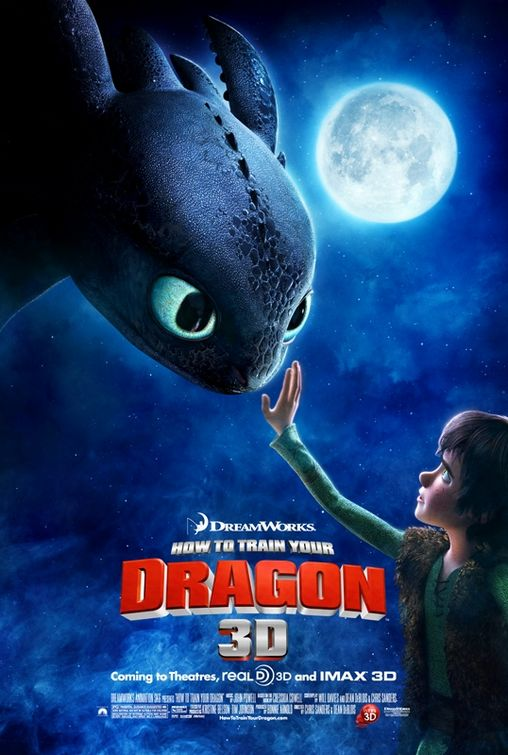 hot to train your dragon rare animation sexy viking fire movie poster
