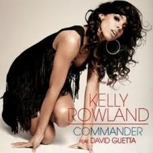 Kelly Rowland feat. David Guetta – Commander cd single album artwork rare