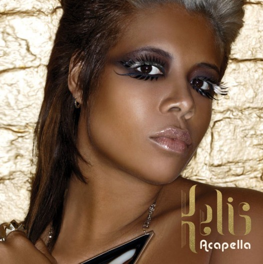 Kelis – Acapella album art single cover artwork rare cd sexy single