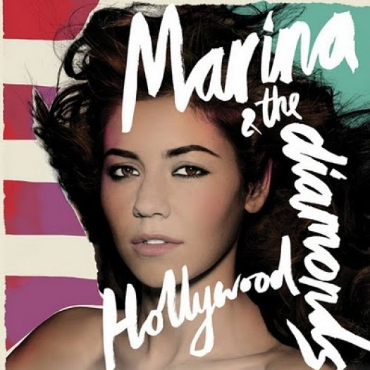 Marina and the Diamonds – Hollywood single album artwork rare cover art