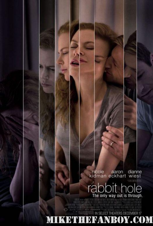 Nicole Kidman, Dianne Wiest, aaron eckhart sexy rabbit hole practical magic mini movie poster promo