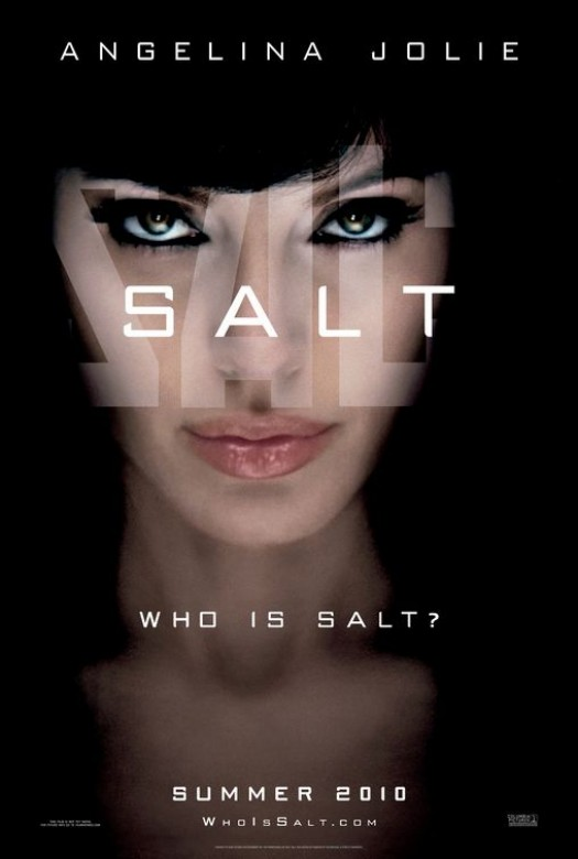 angelina jolie sexy salt promo mini poster uk rare naked slut promo movie poster