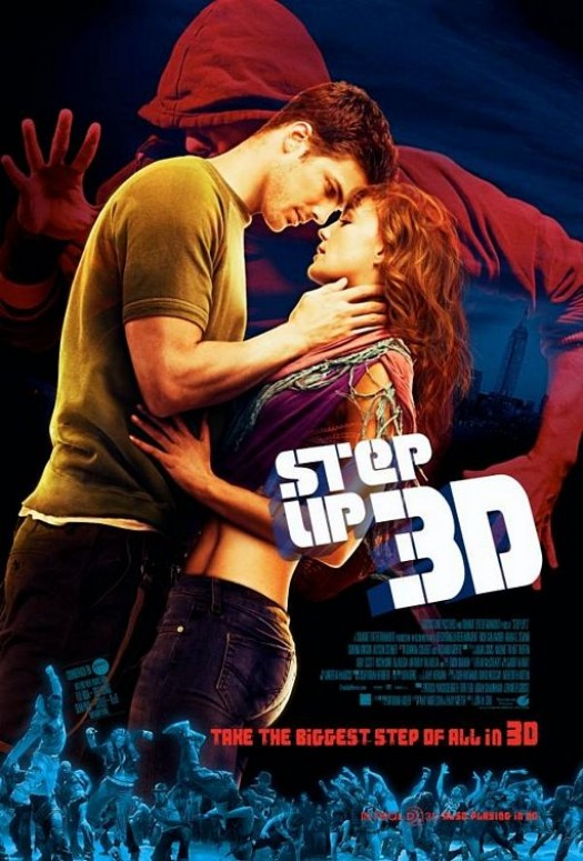 Step Up 3d one sheet movie poster rare sexy men shirtless dancing