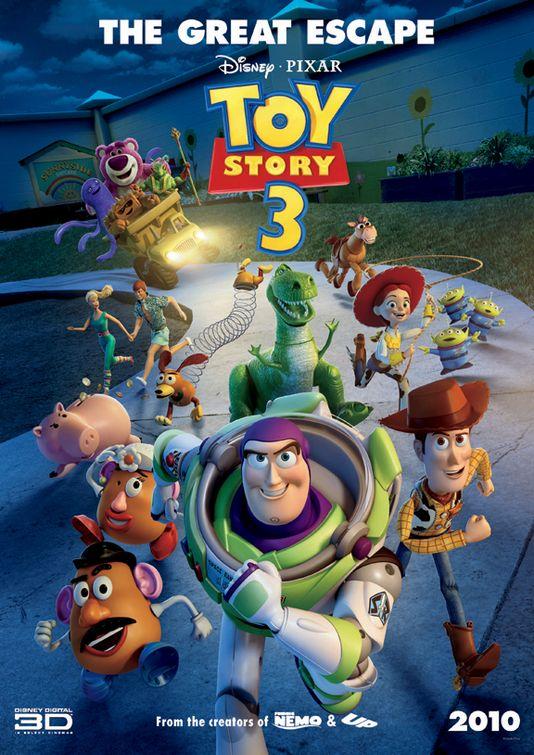 toy story 3 tim allen tom hanks mini movie poster rare