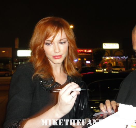 Christina Hendricks Firefly sexy redhead AMC Mad Men Autograph esquire rolling stone hot naked