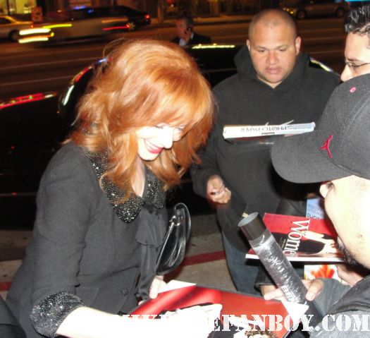 Christina Hendricks mad men esquire rolling stone sexy redhead signed rare firefly