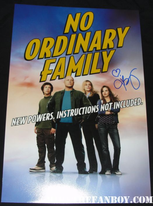 no ordinary family julie benz rare signed autograph dexter promo poster buffy the vampire slayer