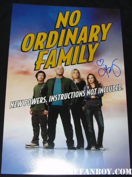 no ordinary family julie benz rare signed autograph dexter promo poster buffy the vampire slayer