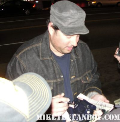 greg grunberg hair alias heroes felicity band from tv signing autographs rare