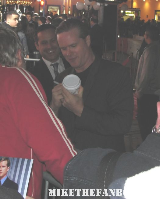 CAREY ELWES SIGNING AUTOGRAPH RARE NO STRINGS ATTACHED PREMIERE PRINCESS BRIDE