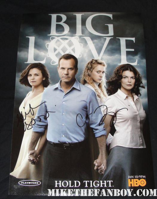 big love rare cast signed big love season 5 promo poster bill paxton final season