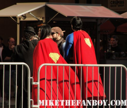 james mcavoy x men first class superman supergirl gnomeo and juliet world premiere