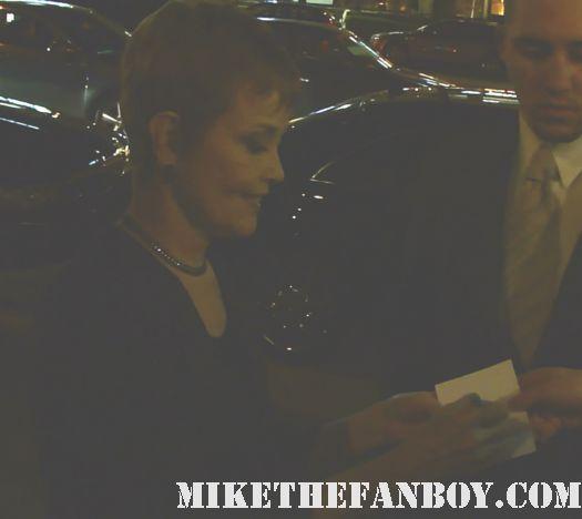 Grace Zabriskie big love promo twin peaks rare hand signed poster