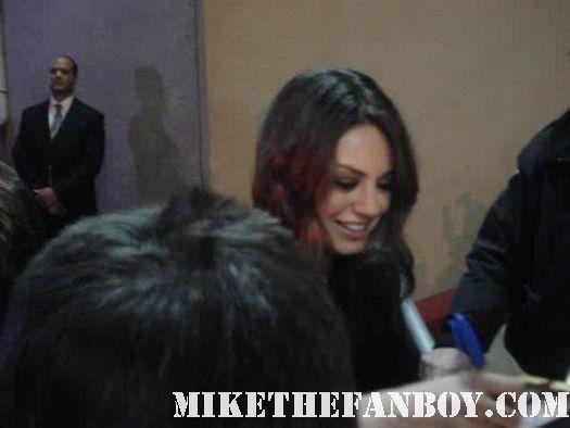 Mila Kunis sexy hot black swan natalie portman forgetting sarah marshall poster rare