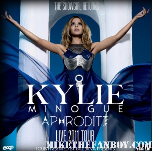 Kylie Minogue All the Lovers North American tour 2011 promo poster hollywood bowl