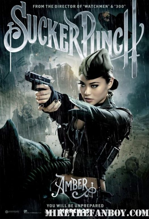 Jamie Chung amber one sheet character individual movie one sheet amber sexy poster hot sucker punch