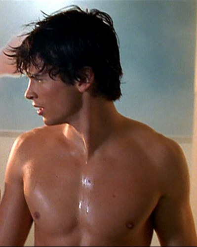 tom welling superman clark kent smallville shirtless sweaty wet sexy hot photo