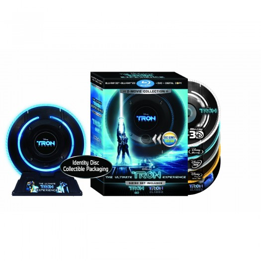tron legacy 5 disc blu ray identiy disc glow jeff bridges garrett hedlund dvd limited edition rare