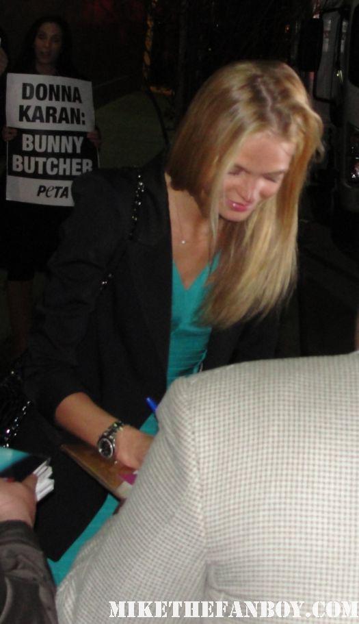 Erin Heatherton victoria's secret sexy hot blonde model autograph signed rare bicini