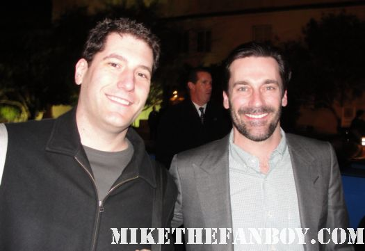 Jon Hamm mike sametz mad men the town rare sexy hot rolling stone rare irish awards smoking