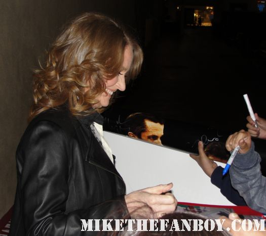 Melissa Leo the fighter treme mark wahlberg academy award autographs signed
