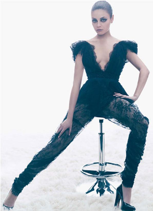mila kunis w magazine march 2011 sexy hot naked photoshoot promo photo forgetting sarah marshall black swan rare