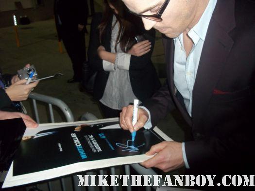 matt mathew bomer whie collar chuck rare hand signed autograph sexy hot