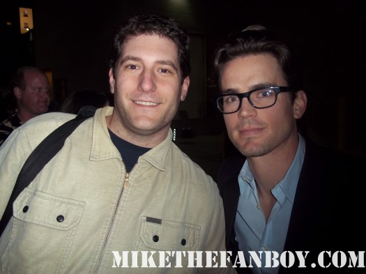 white collar matt bomer chuck mike sametz mike the fanboy.com