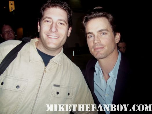 Matt Mathew Bomer mike the fanboy mike sametz white collar chuck sexy rare