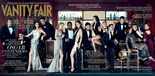 vanity fair 2011 hollywood issue cover anne hathaway olivia wilde naked james franco rare hot sexy