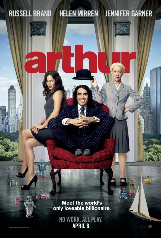russell brand katy perry jennifer garner helen mirren alias arthur movie poster promo get him to the greek 13 going on 30