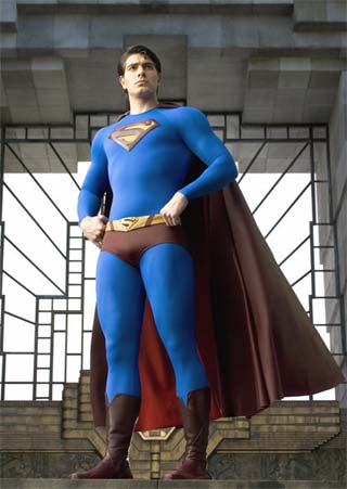 brandon routh superman returns bryan singer rare shirtless promo sexy hot fantasy photo superhero promo