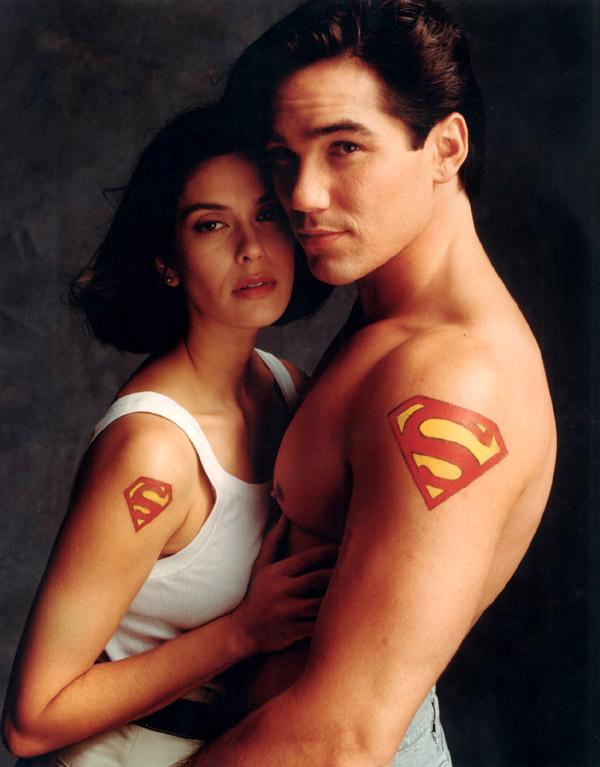 dean cain sexy shirtless sweaty rare superman teri hatcher soapdish lois and clark clark kent rare hot promo rare
