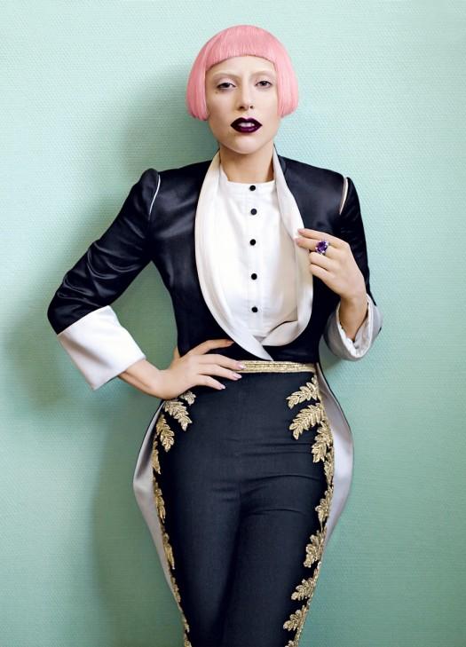 lady gaga born this way march 2011 vogue magazine rare born this way fame monster album art
