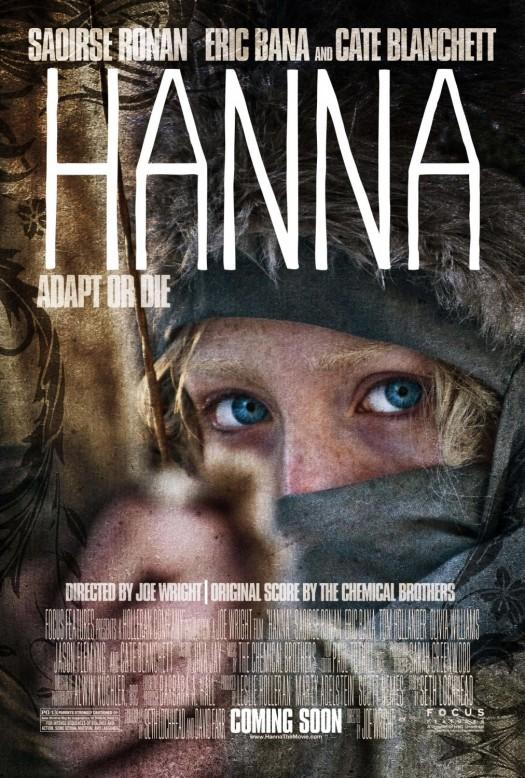 hanna hunger games one sheet movie poster cate blanchett eric banna Saoirse Ronan