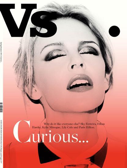 Kylie Minogue Vs. Magazine rare hot sexy cover hollywood bowl rare V Magazine