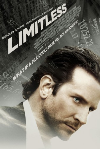 limitless promo one sheet movie poster bradley cooper alias valentines day will tippen hangover shirtless sexy hot rare naked