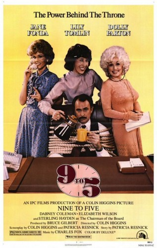 9 to 5 nine to five what a way to make a living dolly parton poster promo jane fonda