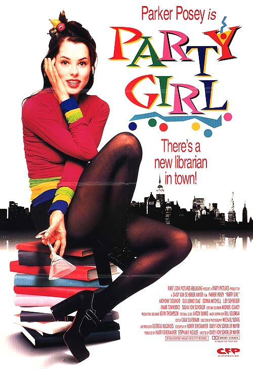 parker posey party girl promo mini poster rare promo cult classic heh heh hello house of yes