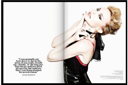 kylie minogue V magazine Vs. photo shoot magazine cover rare sexy bazaar world tour aphrodite