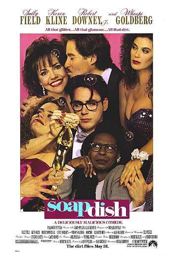 soapdish one sheet movie poster mini rare promo kevin kline robert downey Jr. whoopi goldberg teri hatcher elizabeth shue