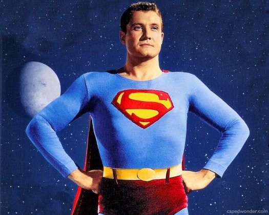 superman 1940s george reeves mysterious death rare costume promo promo rare