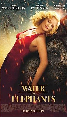 rob pattinson reese witherspoon individual rare promo mini poster water for elephants sweet how alabama twilight Eclipse sexy hot